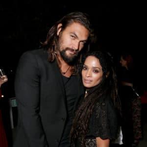 Lisa and husband Jason Momoa