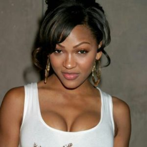 Meagan Good in Hooters Outfit (2)
