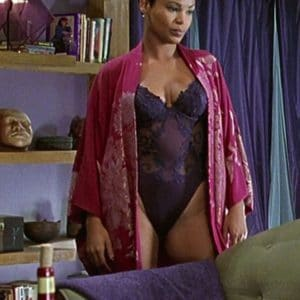 Nia Long in lingerie one piece