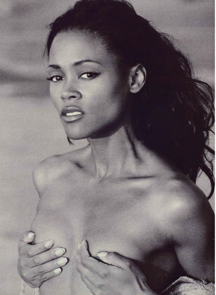 Robin Givens in Playboy