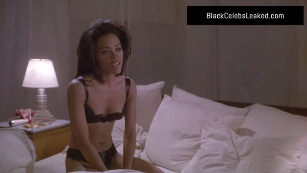 Robin Givens in her underwear