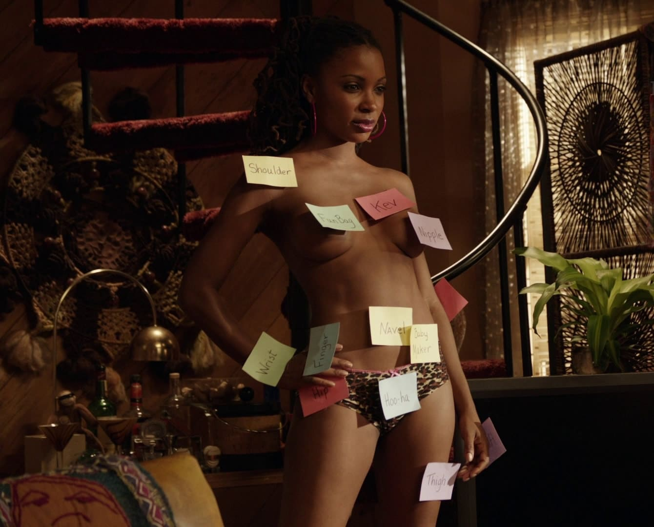 Is There Nudity In Shameless shanola hampton exposed. every scene from shameless [ hq video ]