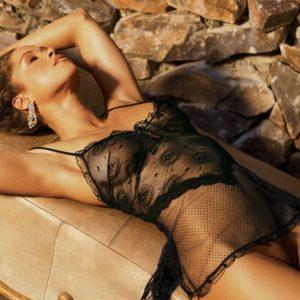 stacey dash black lingerie