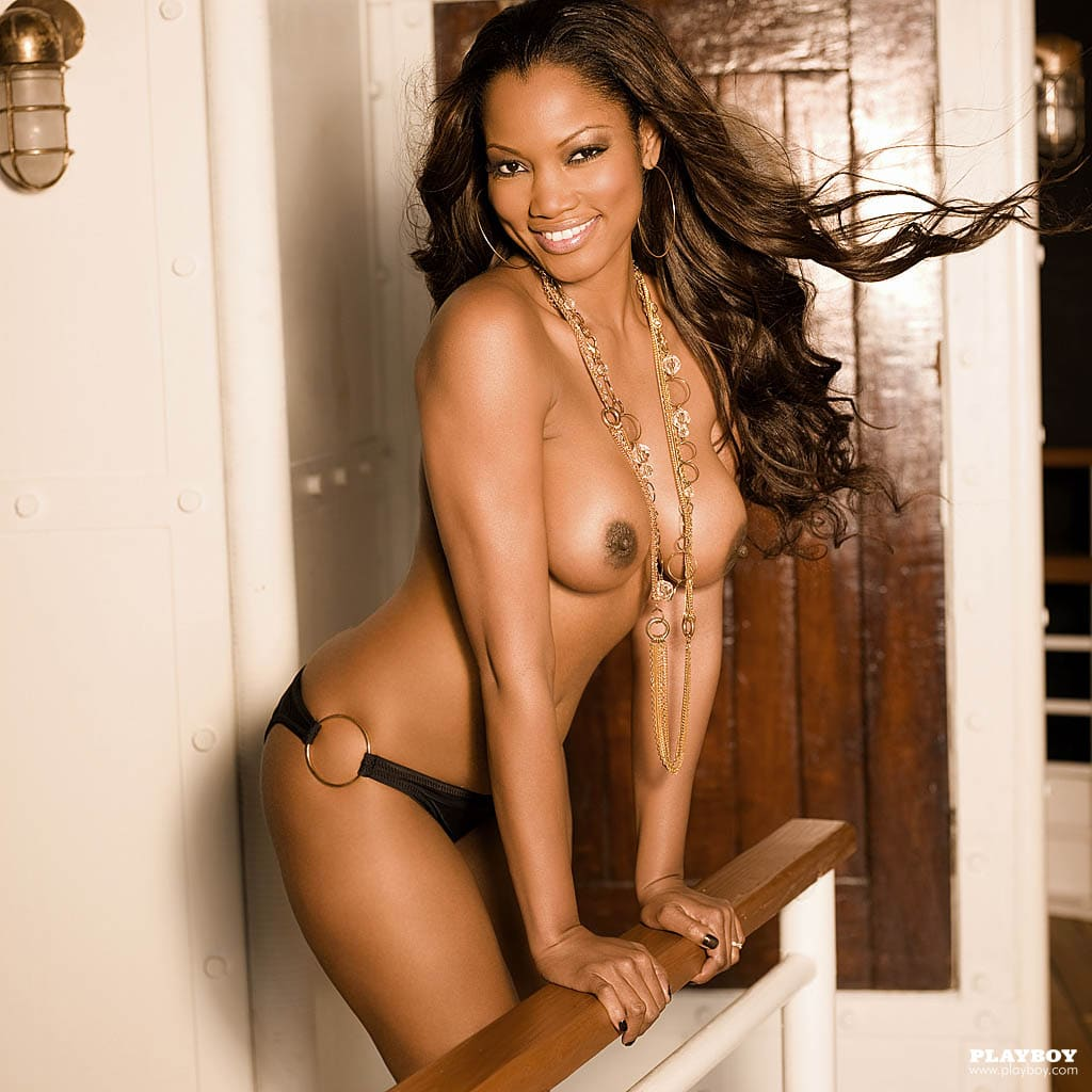 Garcelle topless in PB