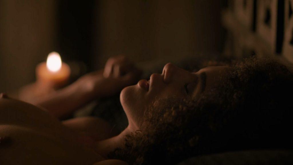 Nathalie Emmanuel naked in Game of Thrones Season 7 (1)