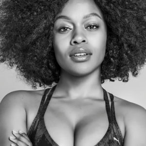 Nomzamo Mbatha Shows Off Her Big Bouncy Tits