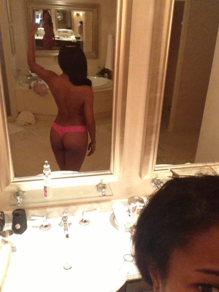 Gabrielle Union sexy ass in a thong