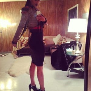 Keri Hilson dirty secretary in heels